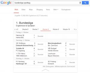 Googles semantische Suche