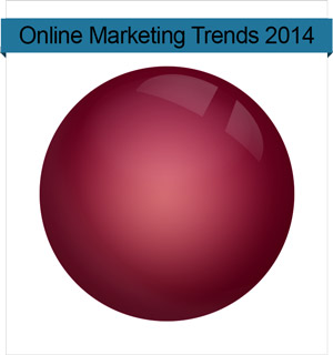 Online Marketing Trends 2014 Kristallkugel