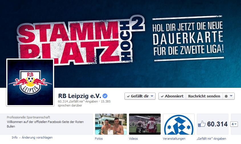 RB Leipzig Facebook