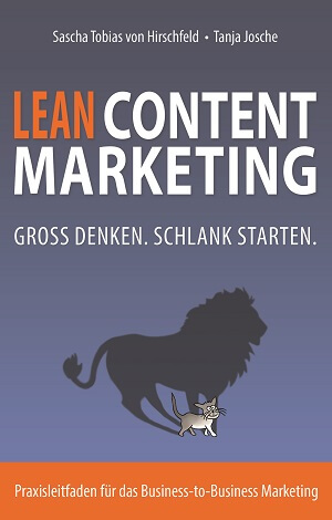 Lean Content Marketing Cover