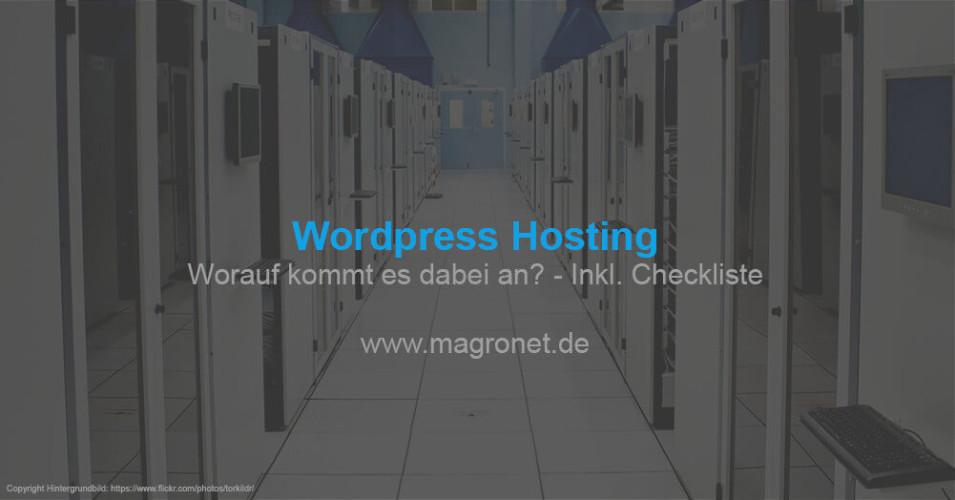 Wordpress Hosting - erfahre jetzt worauf es dabei ankommt