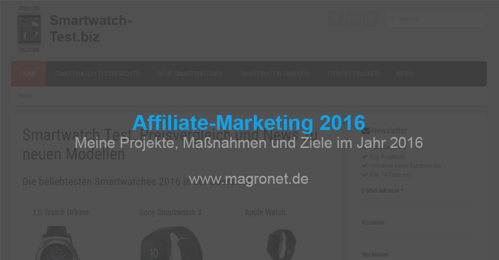Affiliate Marketing 2016
