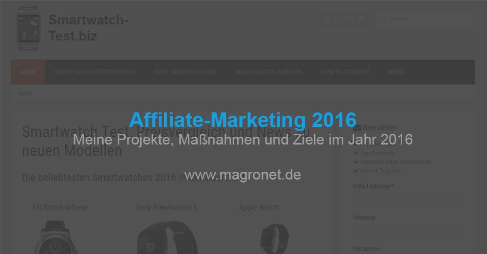 Affiliate Marketing 2016