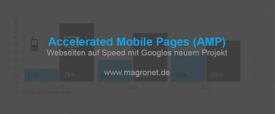 Google Accelerated Mobile Pages (AMP) - Webseiten auf Speed