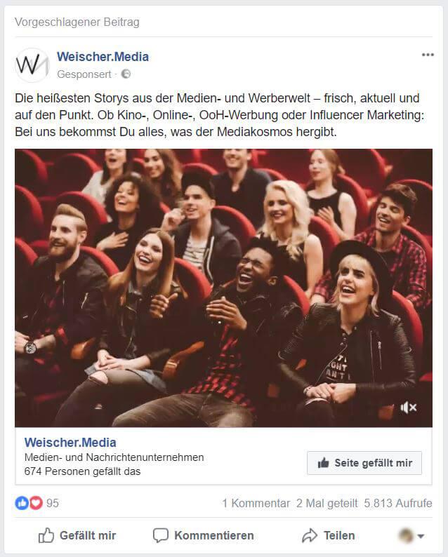 Mehr Reichweite auf Facebook durch Anzeigen