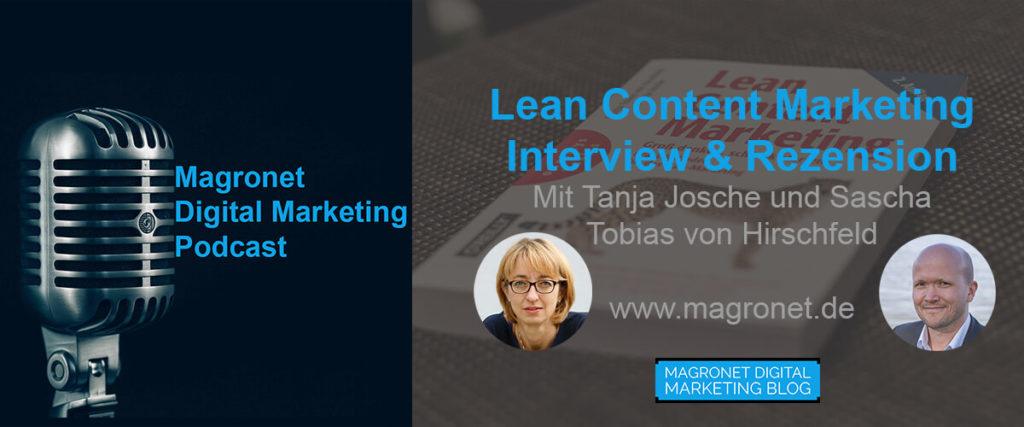 Lean Content Marketing Interview & Rezension